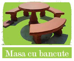 Masa cu bancute